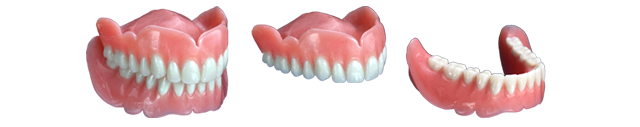 Full, Partial Top and Partial Bottom Dentures